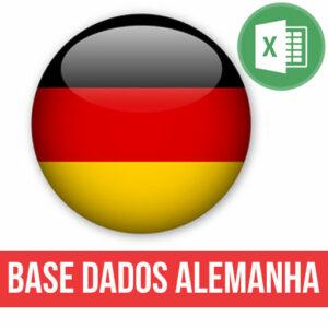 Base dados Alemanha