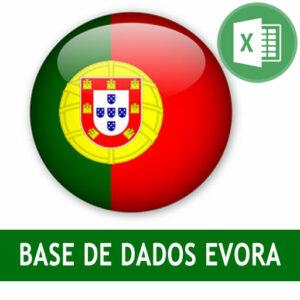 Base dados Évora