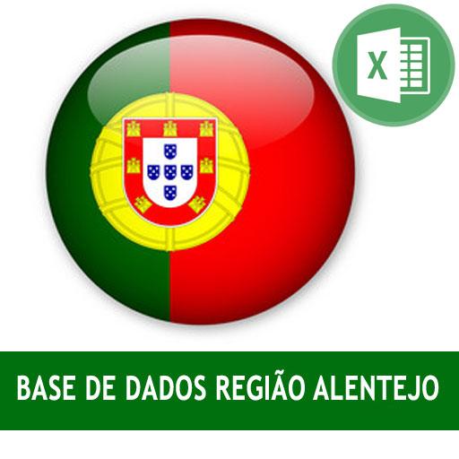 Base dados regiao Alentejo